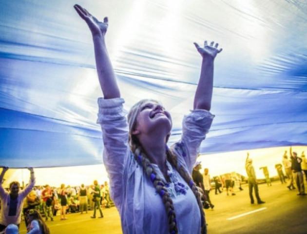 У День прапора у Вишгороді стяг України піднімуть діти - святкування, РДА, київщина, День Незалежності, Вишгородський район - 0820 Den prapora