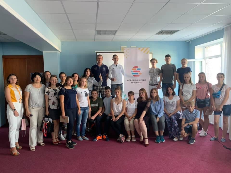На Вишгородщині відбувся молодіжний мотиваційний тренінг - РДА, молодіжна рада, київщина, Вишгородський район - 0827 Molrada1