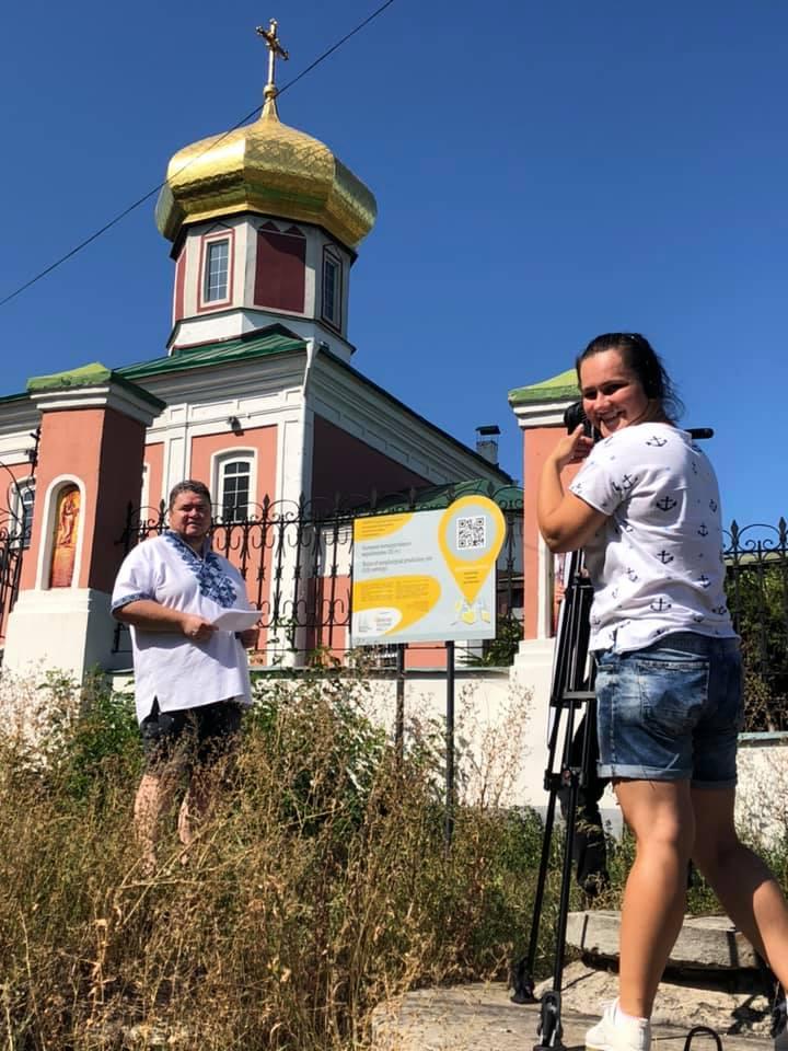 «Доторкнись до історії»: зірковий «десант» у Вишгороді -  - 0827 VIKZ zirky fotoprotses