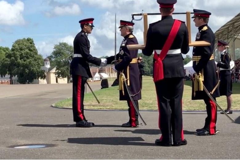 Українець став найкращим випускником британської військової академії - Військовий, Велика Британія - 11 voennyj