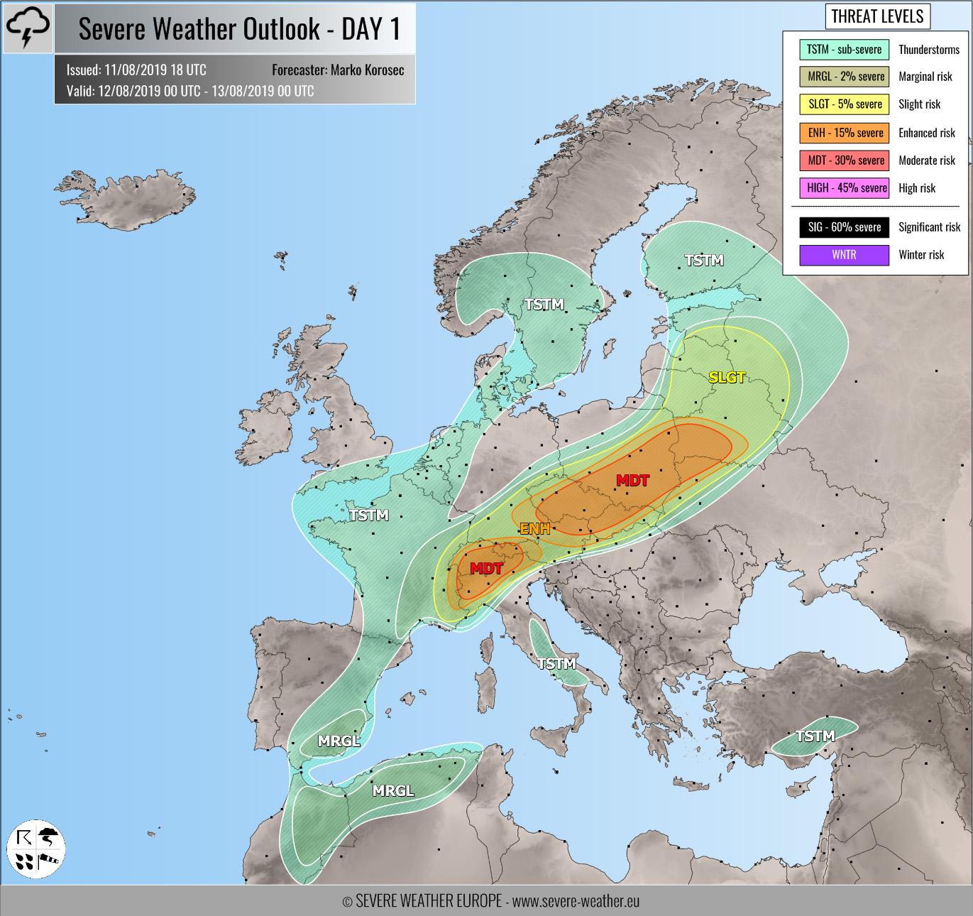 Північ України накриють шквали, град та проливні дощі - погода, погіршення погодних умов - 12 pogirshennya pogodnyh umov