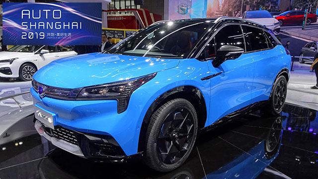 У Китаї презентували новий електричний кросовер Aion LX - електрокари - 2019 GAC Aion LX