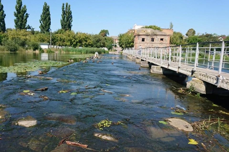 В області зафіксовано значне маловоддя річки Рось - річка Рось, питна вода, Вода - 22 ros