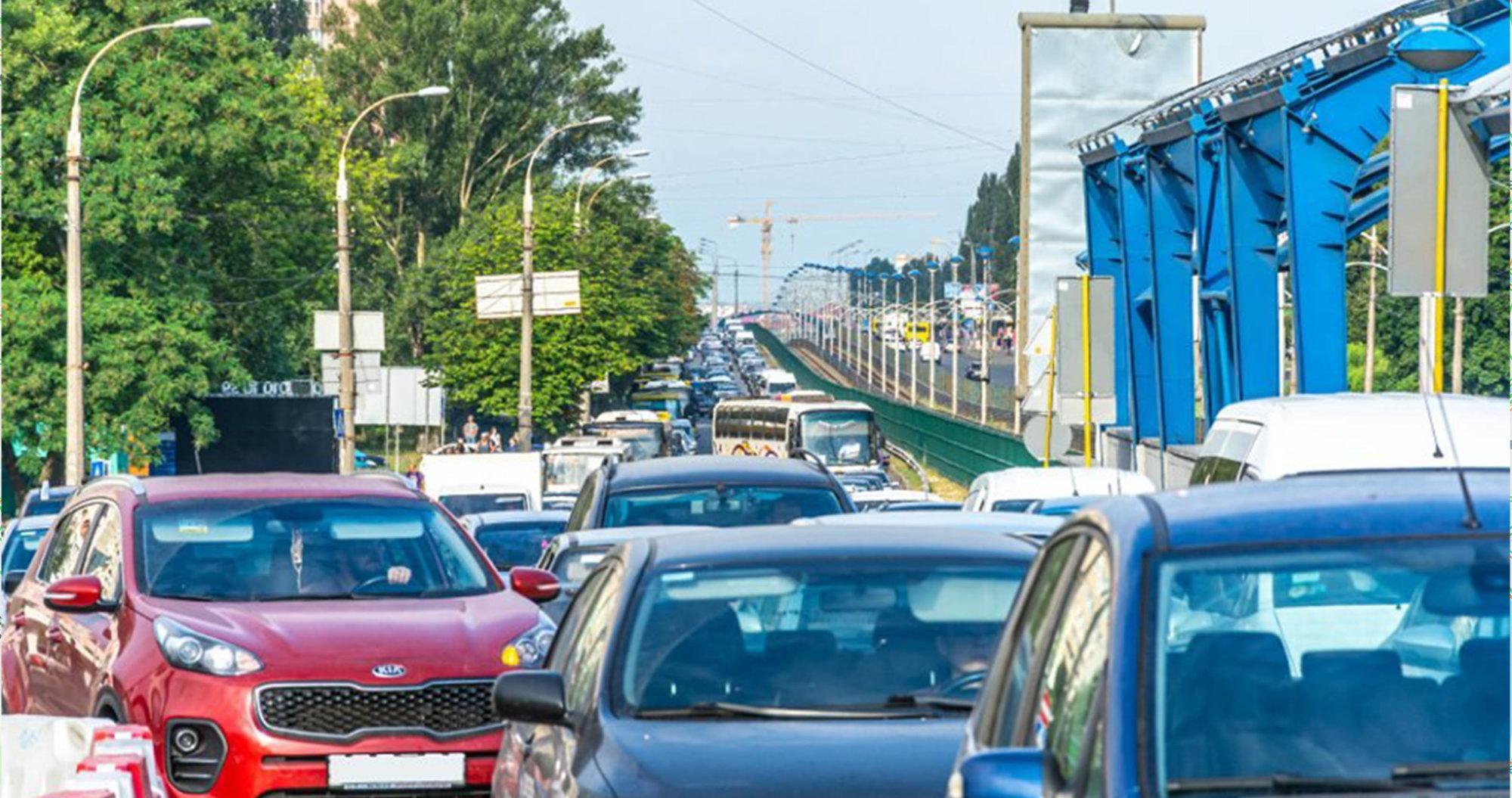 Нескінченні затори на дорогах Києва - пробки - 26071 2000x1055