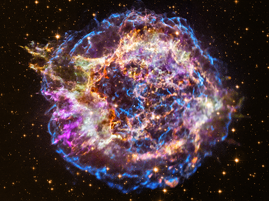 Народження наднової: в НАСА показали еволюцію спостережень за Кассіопеєю А (ВІДЕО) - відкритий космос, NASA - 28 kas
