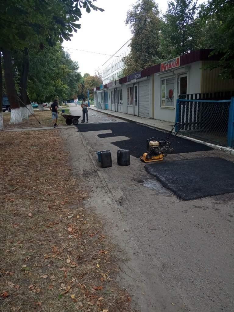 У Кагарлику тривають ремонти тротуарів та доріг -  - 374214987 big