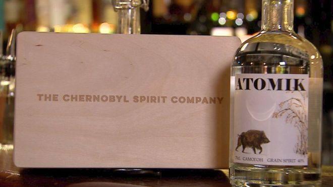 Чорнобильська горілка – не міф: «Атомік» презентовано у Великобританії