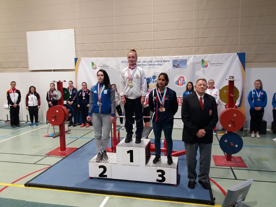 Бориспільська спортсменка здобула срібло на чемпіонаті Європи з класичного жиму лежачи -  - 67838027 2348648472045800 6031875203196256256 n