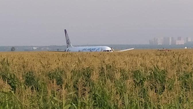 Через птахів у двигуні літак здійснив аварійну посадку в кукурудзяному полі -  - 67969386 2383133305096089 5794532050539118592 n