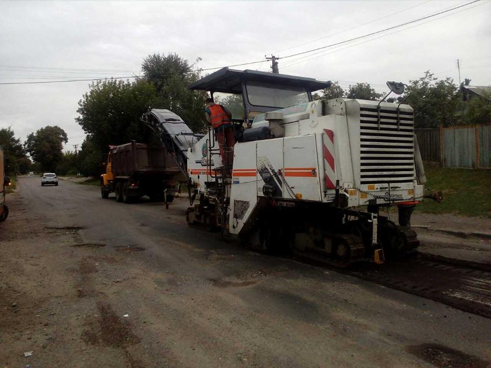 Ремонт дороги на Київщині – за кошти з «митного експерименту»