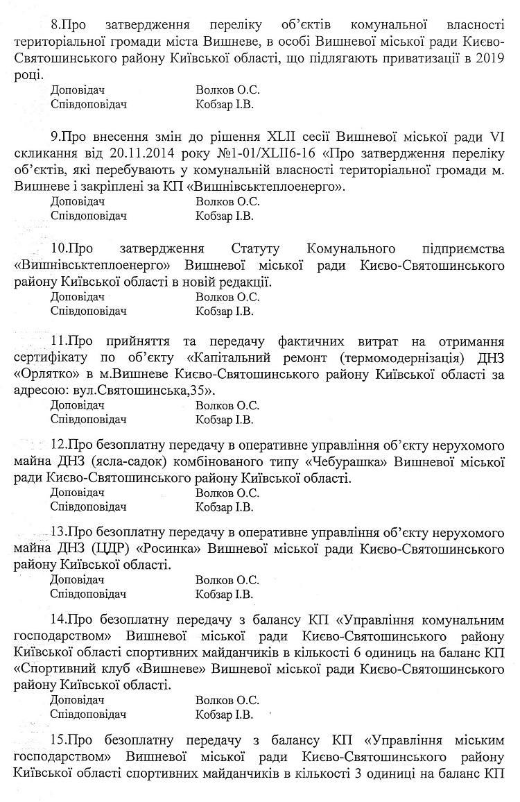 68512150_2413211388926519_1192965932838813696_o У Вишневу розглянуть питання припинення повноважень депутата від БПП