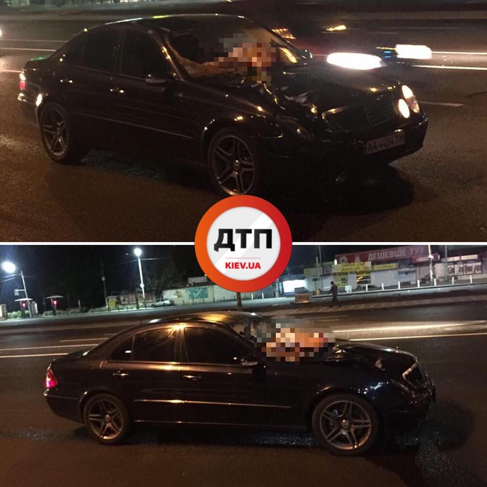Київ: водій на шаленій швидкості вбив людину, залишив авто та втік -  - 68988750 1402435149922374 6582908658185666560 n