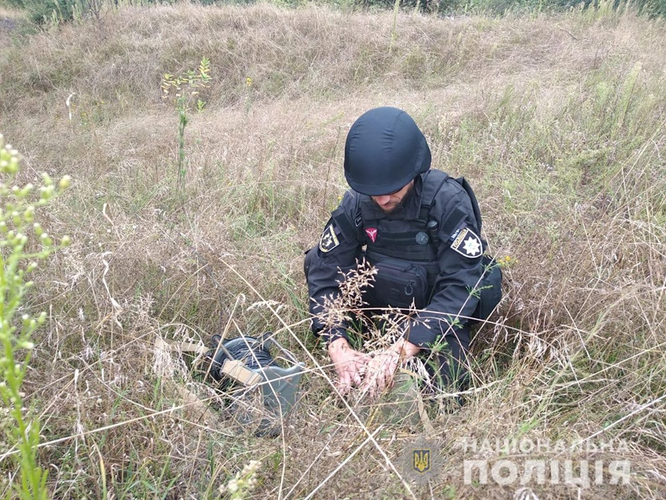 У Баришівському районі люди знайшли вибухівку -  - 69302789 2433620580026433 3598664539387723776 n