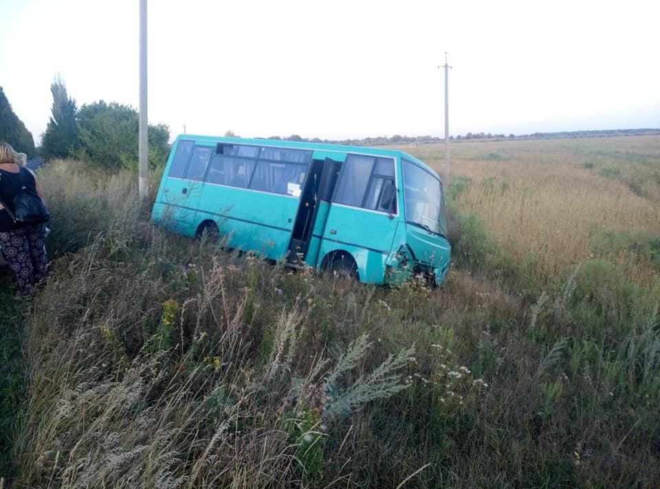 Маршрутний автобус Київ-Баришівка потрапив у ДТП -  - 69392579 911498235875411 4197459190349824000 n