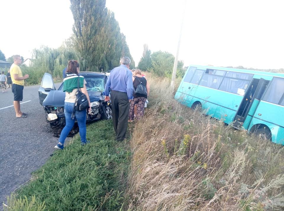 Маршрутний автобус Київ-Баришівка потрапив у ДТП -  - 69443147 911498179208750 1994476451692281856 n
