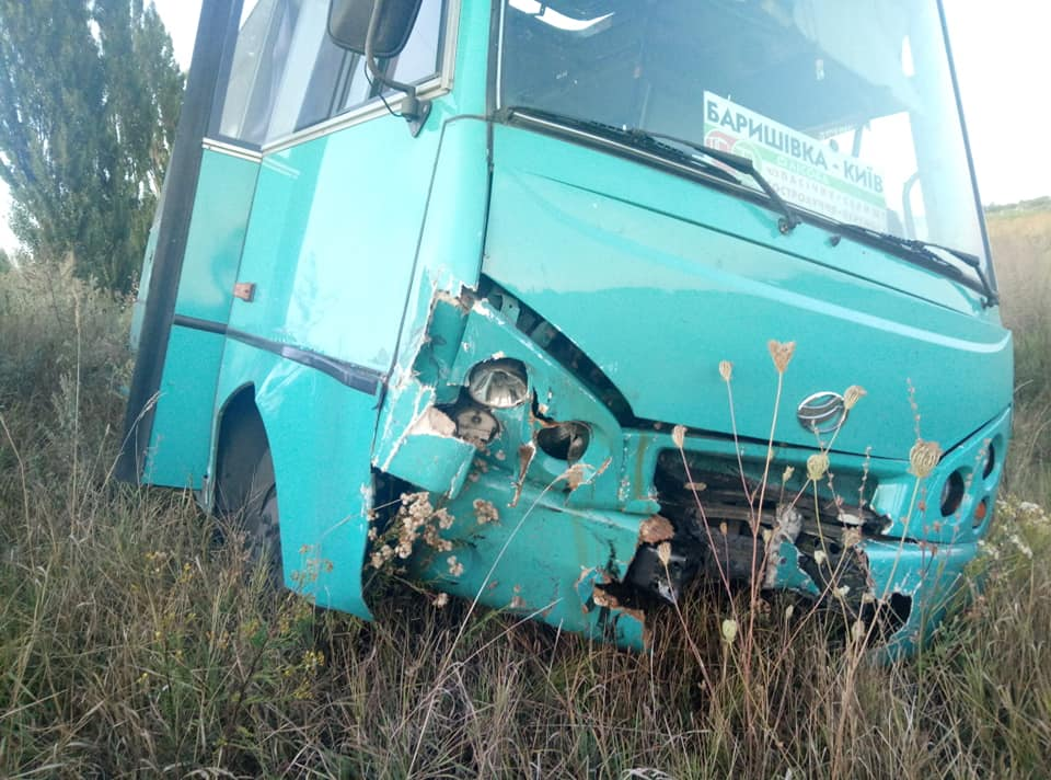 Маршрутний автобус Київ-Баришівка потрапив у ДТП -  - 70253892 911498265875408 3548549817300942848 n