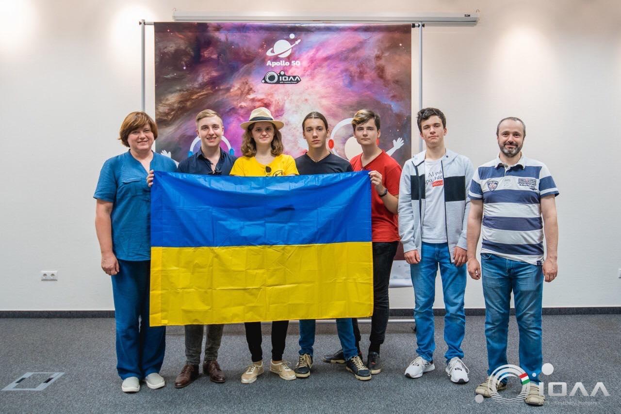 Dovbush-1 Астрономічна «бронза» Андрія Довбуша: житель Ірпеня став призером міжнародної олімпіади