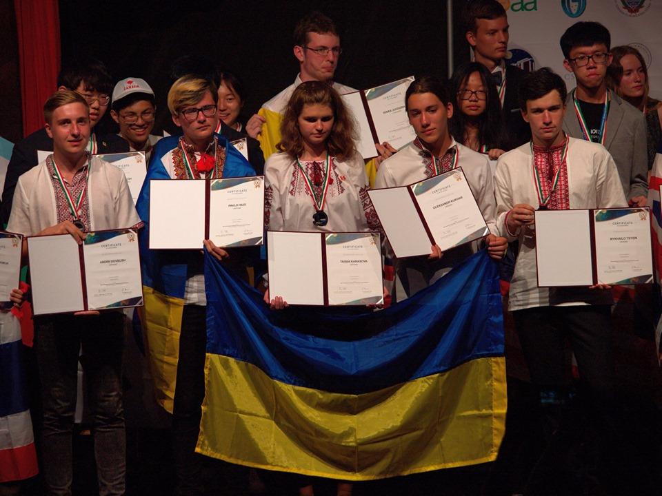 Dovbush-2 Астрономічна «бронза» Андрія Довбуша: житель Ірпеня став призером міжнародної олімпіади