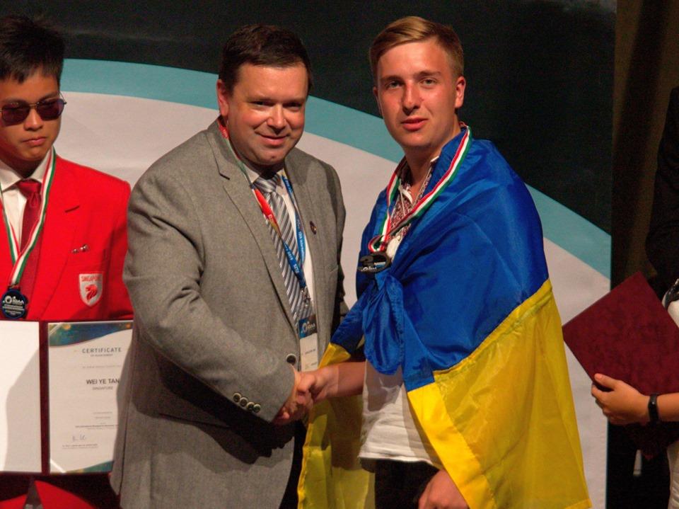 Dovbush Астрономічна «бронза» Андрія Довбуша: житель Ірпеня став призером міжнародної олімпіади