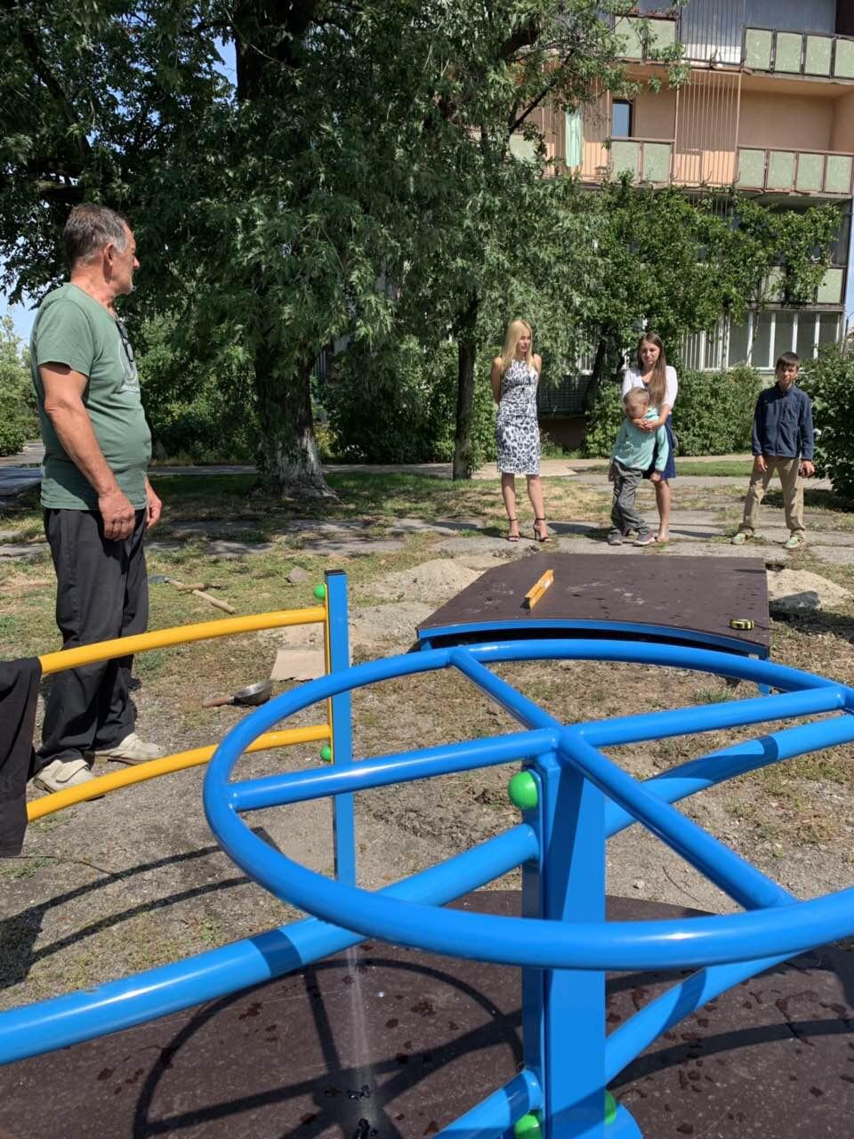 В Українку приїхало обладнання для інклюзивного майданчику -  - FD708EE4 584B 411A A06E 4CF661D4C289