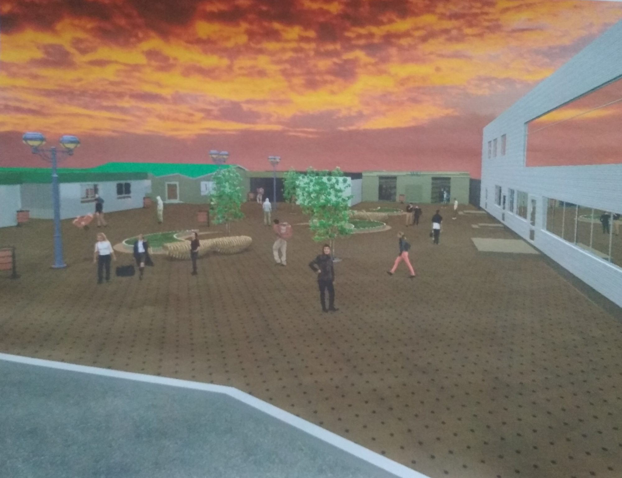 Реконструкція Завокзальної площі Фастова: фастівчанам показали проект площі - Фастів, реконструкція - IMG 20190807 161956 2000x1537