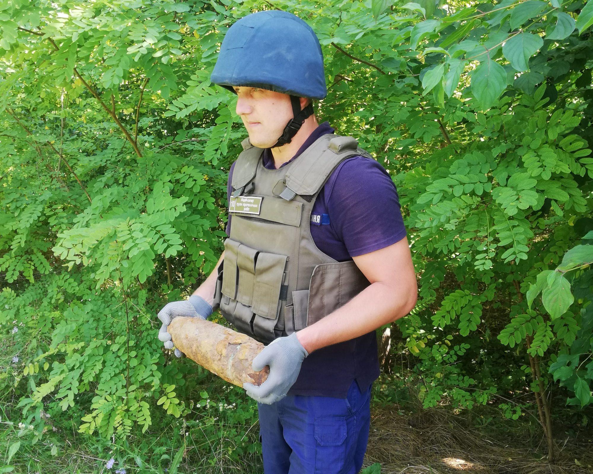 Друга Світова війна знову нагадала про себе снарядами на Васильківщині та Рокитнянщині