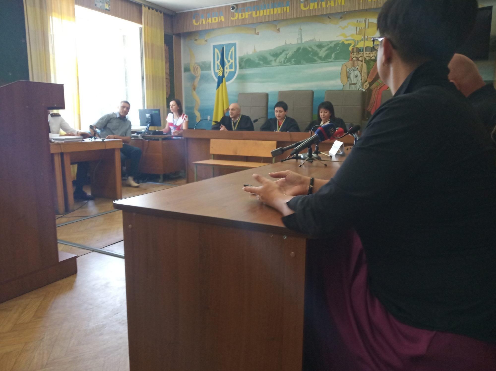 В Броварах перенесли судове засідання по справі Савченко та Рубана (ВІДЕО) -  - IMG 20190827 113924 2000x1498