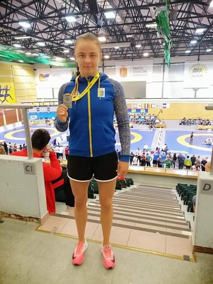 Жителька Ірпеня Ірина Коляденко завоювала срібну медаль на турнірі з вільної боротьби «Poland Open» - спорт, Приірпіння, Польща, Міжнародний турнір, київщина, ірпінь, Ірина Коляденко, вільна боротьба - Kolyad Poland open 3