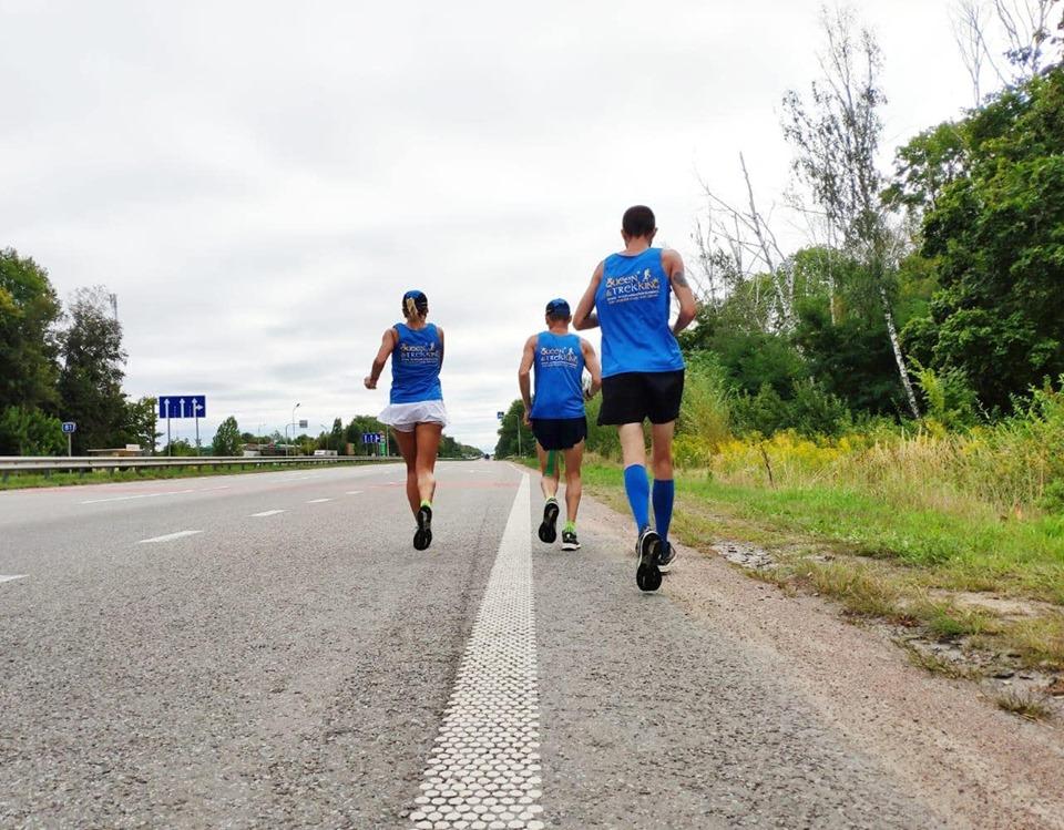 Ультрамарафон в Ірпені: учасники забігу на 500 км з Ковеля до Києва запрошують приєднатися до пробіжки - спорт, Приірпіння, київщина, ірпінь, День незалежності України, Біг - Ultamarafon 3