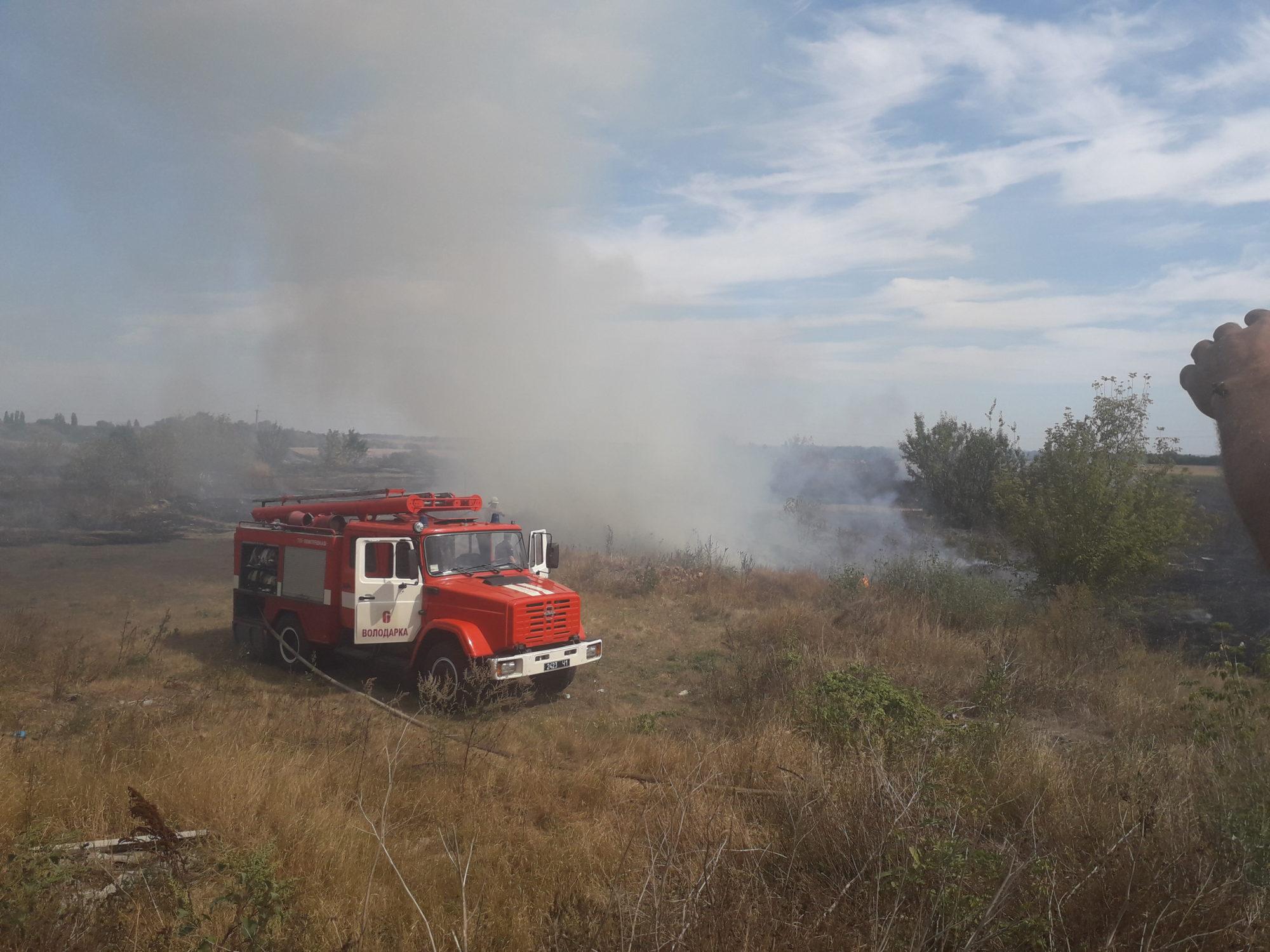 Наслідки святкових днів: на природі у Київській області виникло понад 120 пожеж -  - Voloda 2000x1500