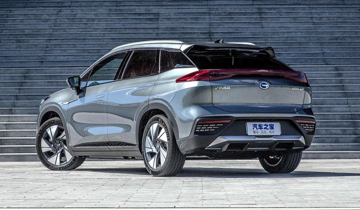 У Китаї презентували новий електричний кросовер Aion LX - електрокари - aion lx2