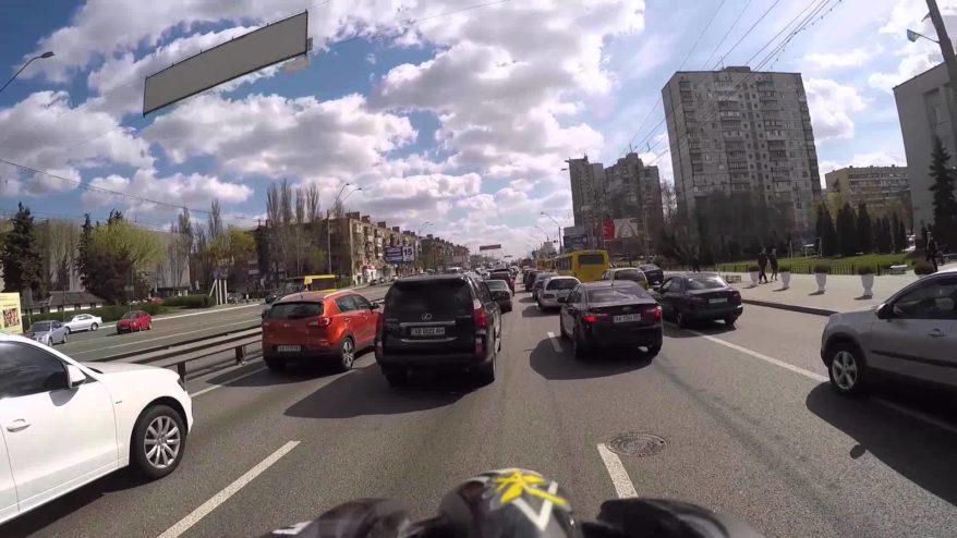 Затори в Києві скували більшість доріг -  - gh