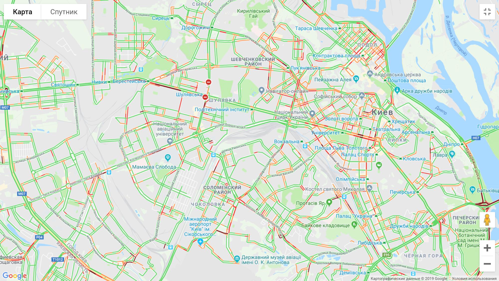 Затори Києва: які вулиці краще уникати - затори - image 1 2000x1125