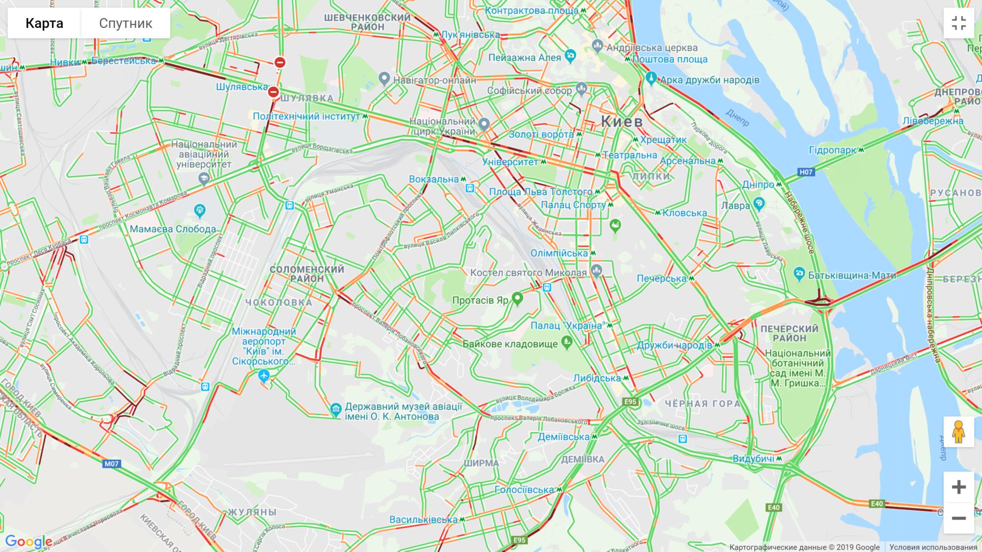 Київ: численні затори на дорогах -  - image 10 2000x1125
