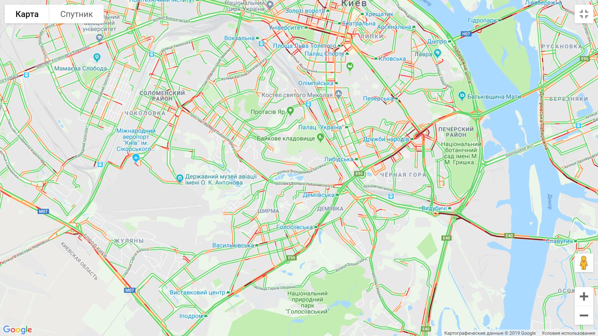 image-12-2000x1125 Вечір п'ятниці: Київ скували величезні затори