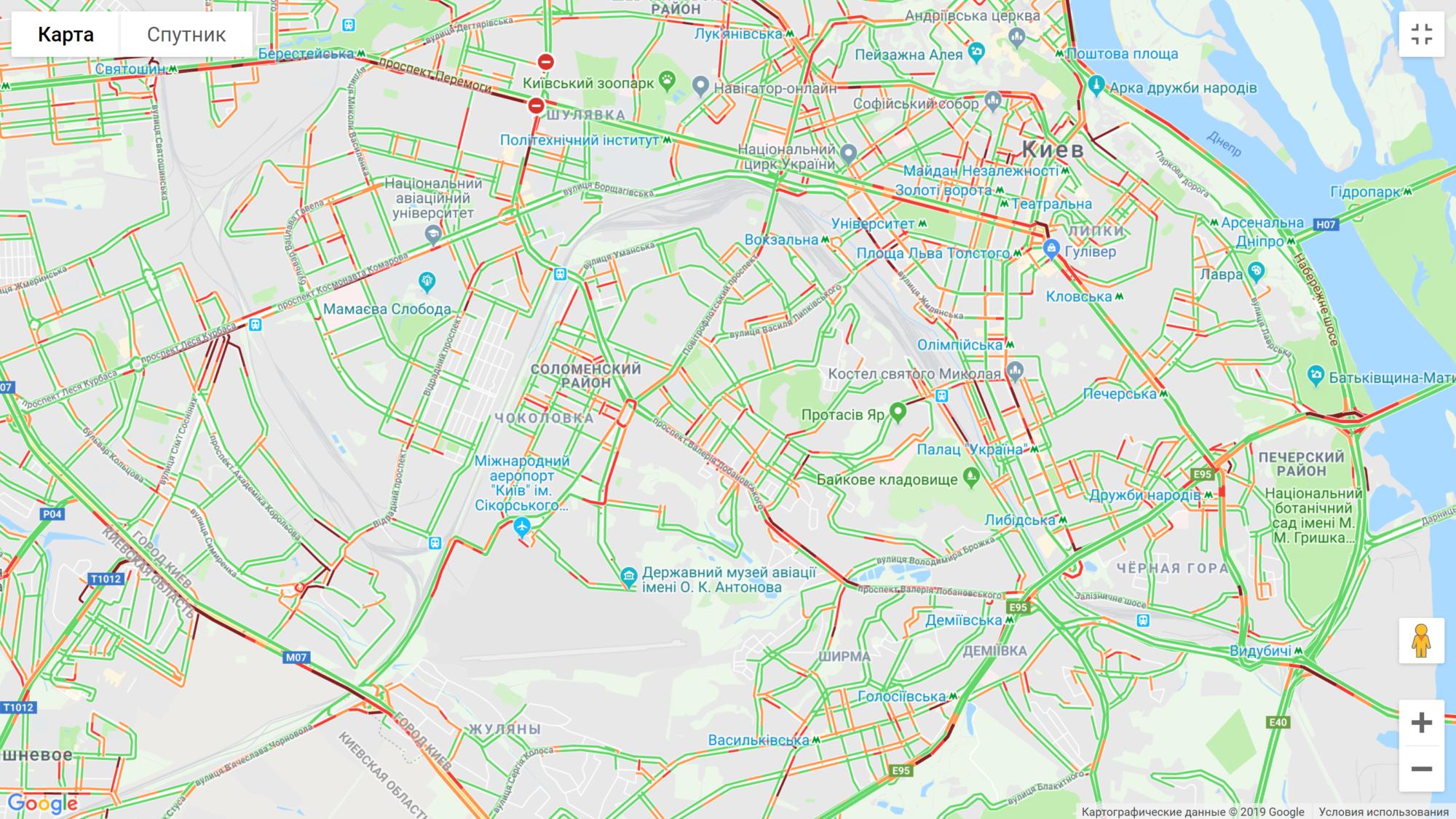 Нескінченні затори на дорогах Києва - пробки - image 14 2000x1125