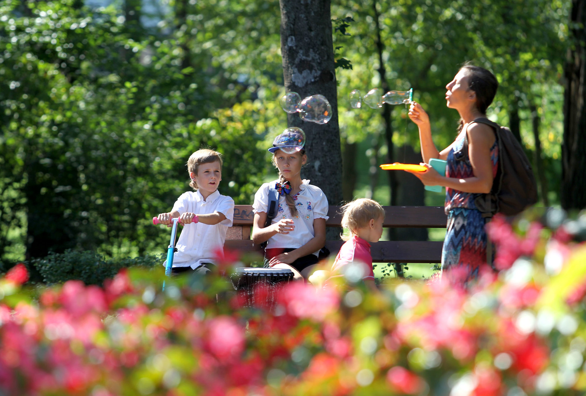 Парк «Пуща-Водиця» у Києві знову відкритий