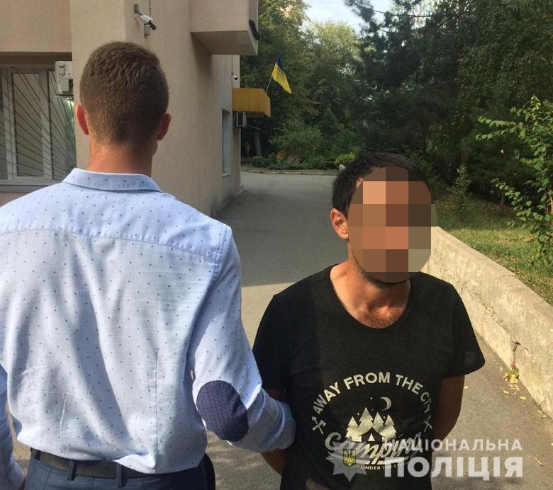 Іноземцю, який у столиці пограбував пенсіонера, повідомили про підозру -  - inozemets27082019