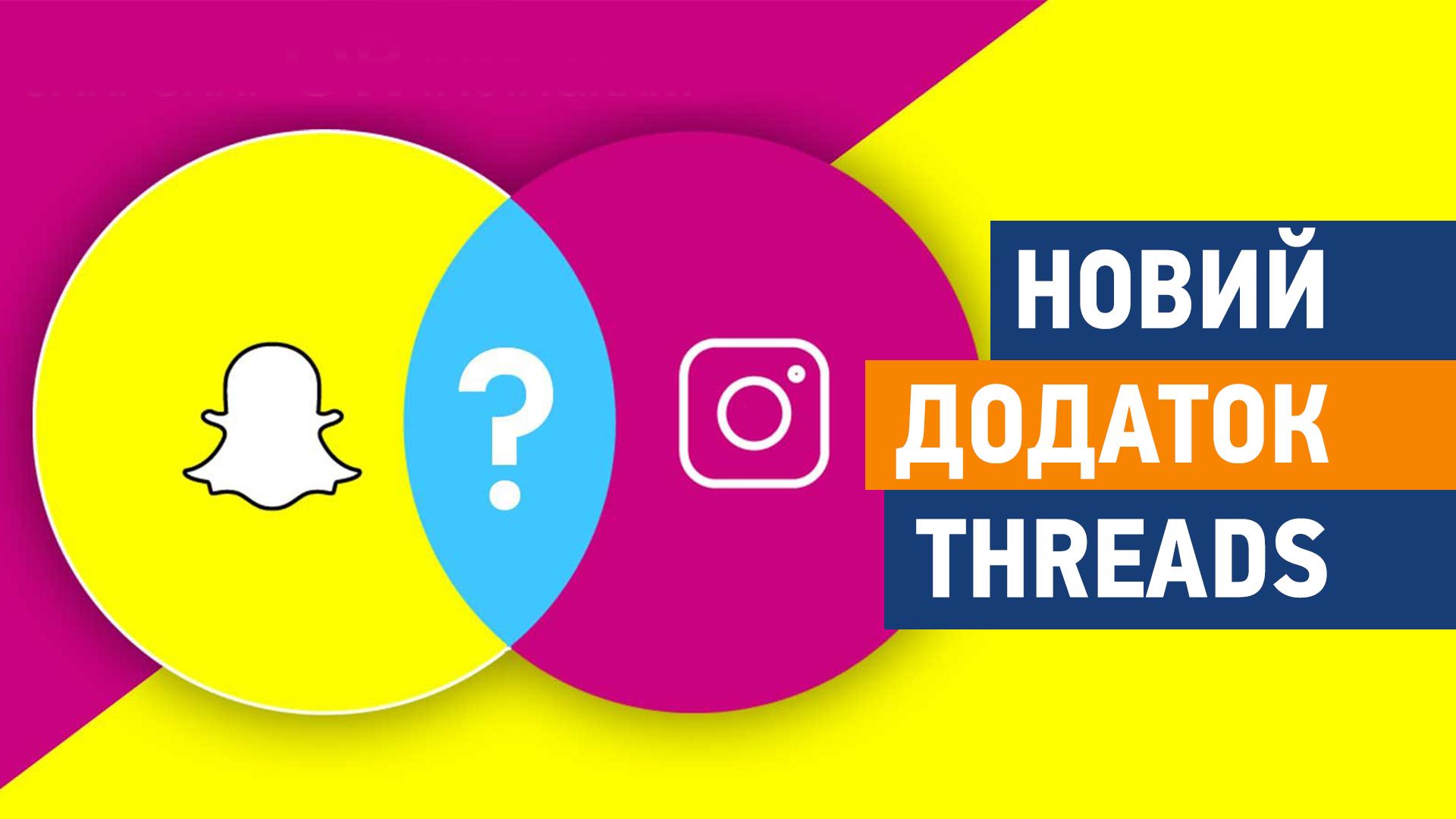 Instagram проти Snapchat. Новий додаток, що замінить Direct - Threads