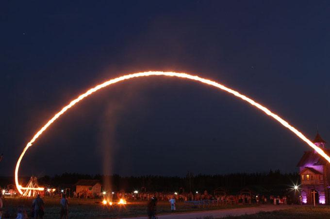 night_trebushet На День Незалежності у «Парку Київська Русь» обіцяють насичену програму