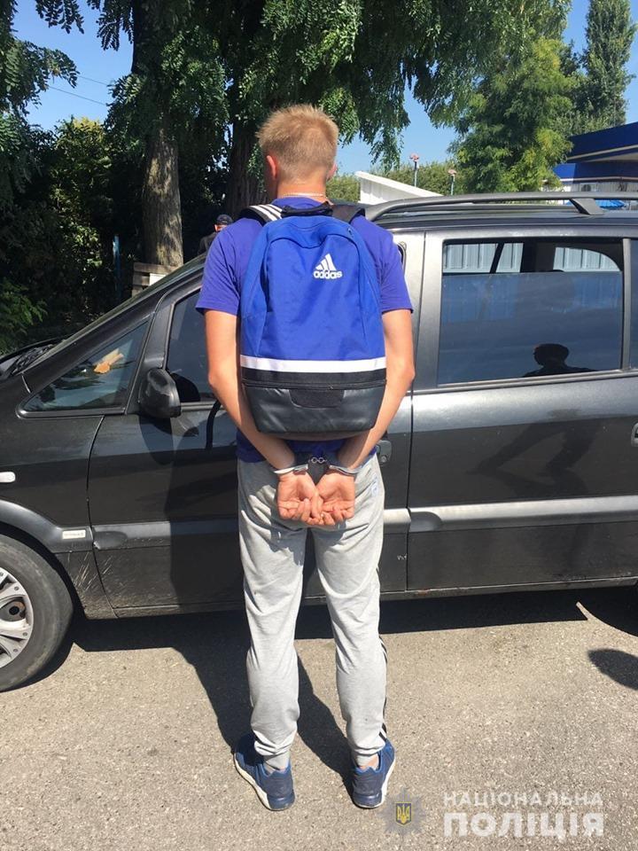 zlodiyi5 Чотирьох молодиків, які обікрали чоловіка у Білій Церкві, затримано