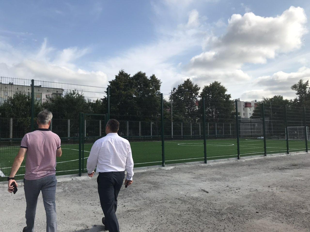 У Баришивці незабаром відкриття міні-футбольного поля -  - zobrazhennya viber 2019 08 15 17 17 37