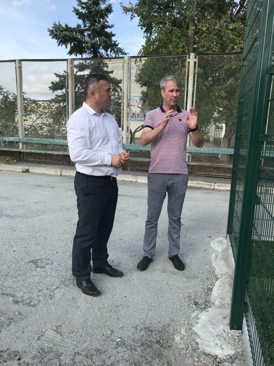 У Баришивці незабаром відкриття міні-футбольного поля -  - zobrazhennya viber 2019 08 15 17 17 47 0
