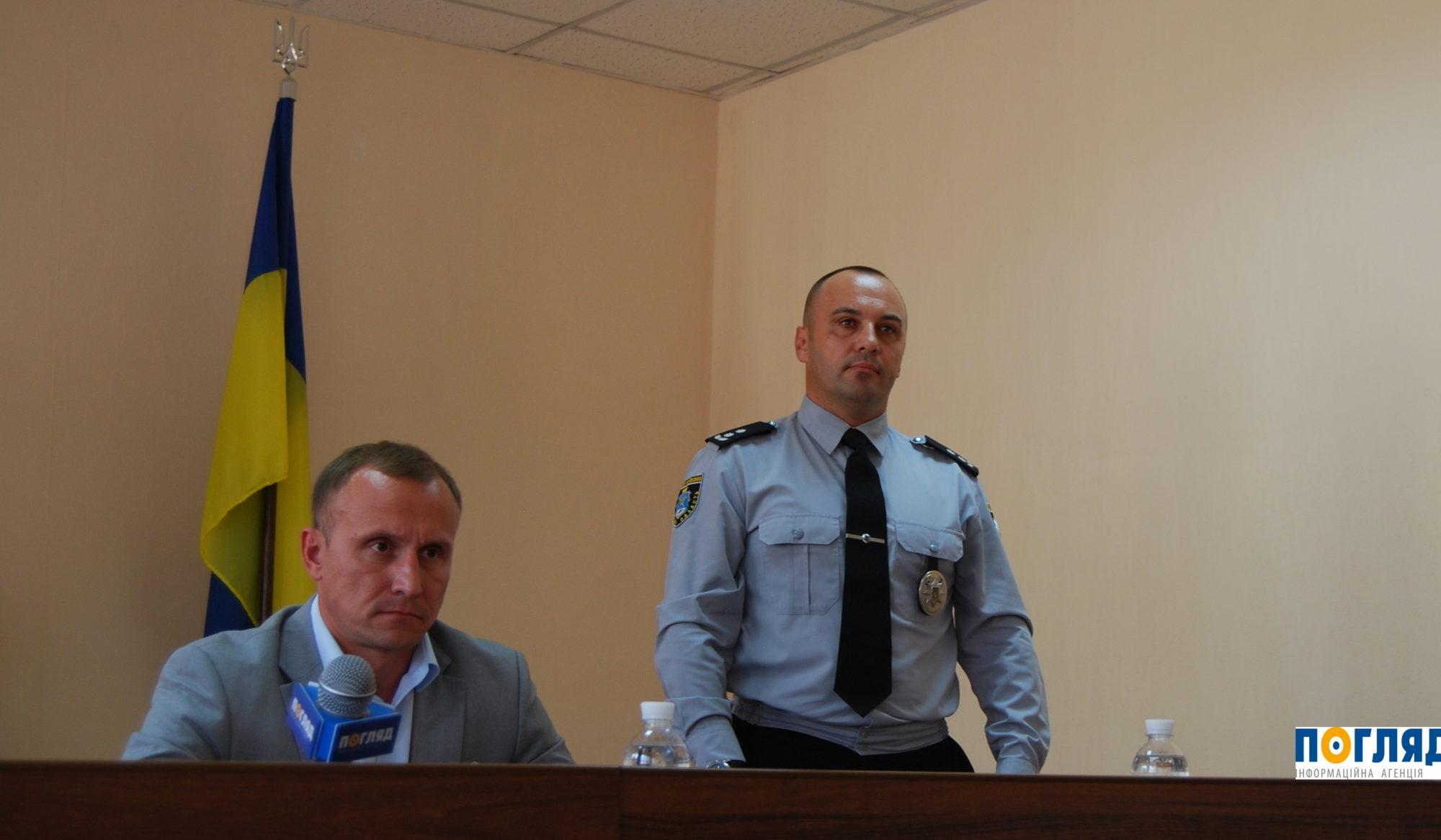 У Василькові офіційно представили нового керівника поліції -  - 000DSC 2704 2000x1166