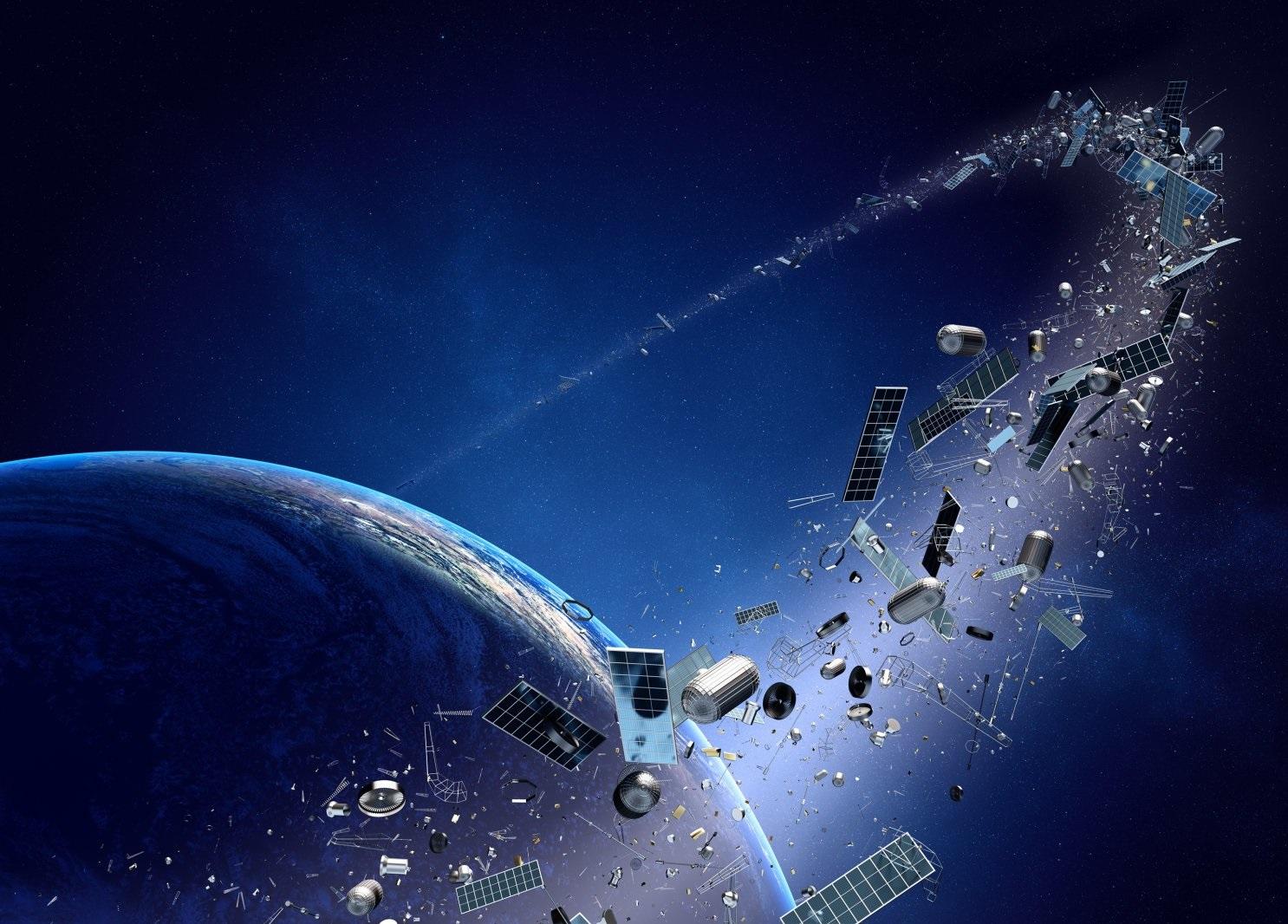 02_kosmycheskyj-musor Загроза з космосу: людство готується до атаки астероїдів та думає, що робити з космічним сміттям