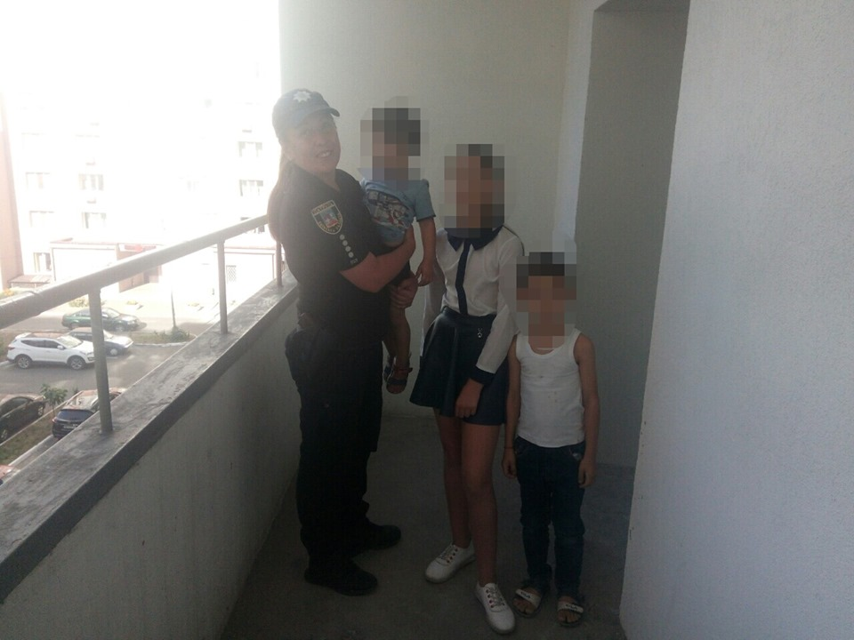 У Вишгороді дитина кидала предмети з четвертого поверху - Поліція, київщина, дитина без нагляду, Вишгород - 0911 Dytyna1