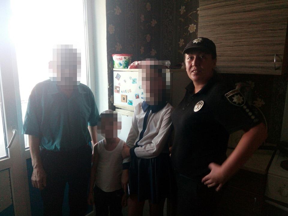 У Вишгороді дитина кидала предмети з четвертого поверху - Поліція, київщина, дитина без нагляду, Вишгород - 0911 Dytyna2
