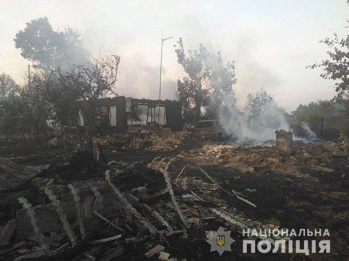 Палив траву, а спалив три хати й три гаражі, п`ять авто і трактор -  - 0912 Lyubym1