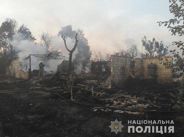 Палив траву, а спалив три хати й три гаражі, п`ять авто і трактор -  - 0912 Lyubym2