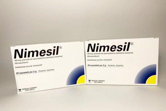 Популярний препарат «Німесил» заборонений із маркуванням польською мовою